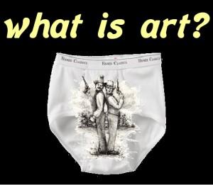 underwear art conflict