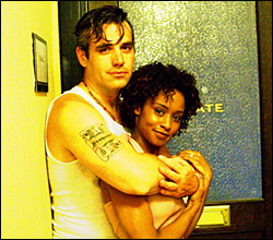 """Eric Webster and Angela Dalton in Sam Post's 10 minute play, """"Love Poem."""" Minneapolis"""